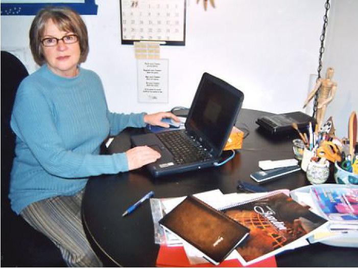 Raymonde et son ordinateur