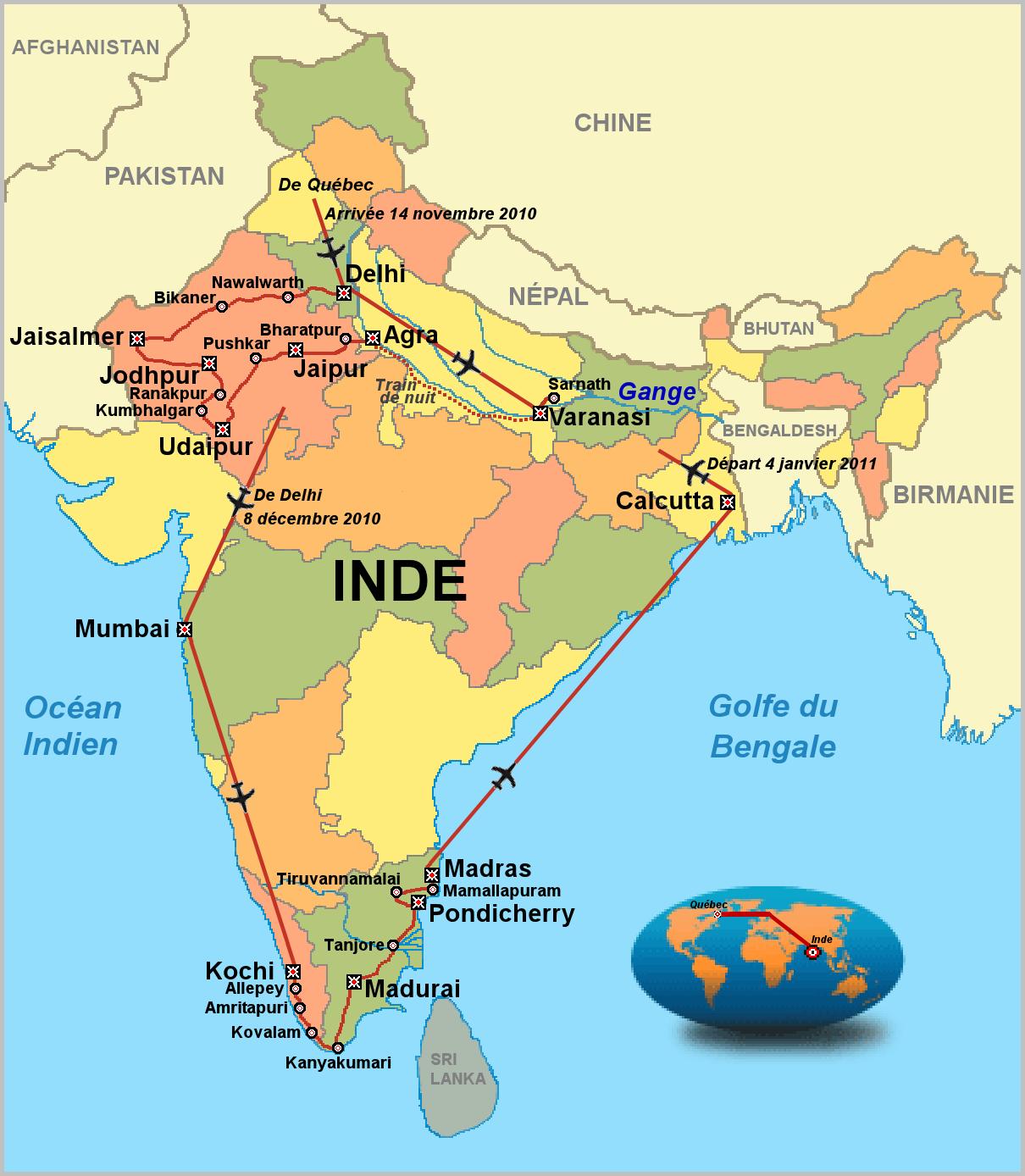 Partez à la découverte de l'Inde du Nord et du Népal avec le voyage Explorateur. Explorateur Voyages vous propose ce voyage en petit groupe pour découvrir les joyaux de Rajasthan, la ville de Bénarès sur les rives du Gange ou Jaïsalmer aux portes du désert de Thar. Voyage en groupe, encadré par un guide.